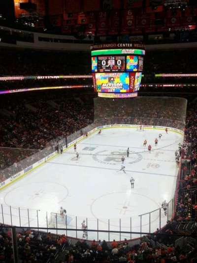 Wells Fargo Center section 220