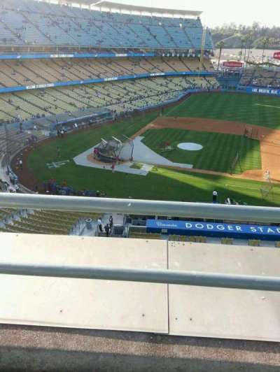 DODGER STADIUM section 16RS