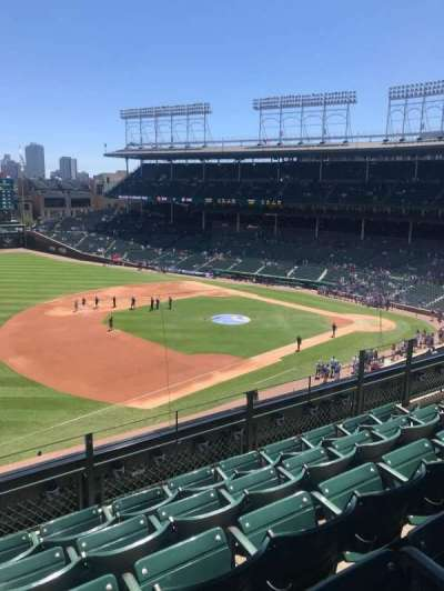 Wrigley Field, section: 409, row: 5, seat: 109