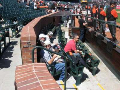 AT&T Park section DC119