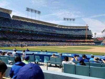 Dodger Stadium, section: 24FD, row: C, seat: 4