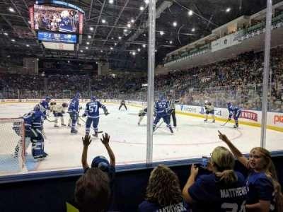 Ricoh Coliseum, section: 115, row: CC, seat: 14