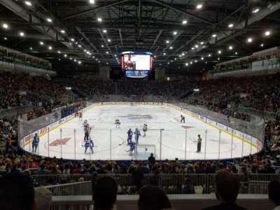 Ricoh Coliseum, section: 115, row: J, seat: 18