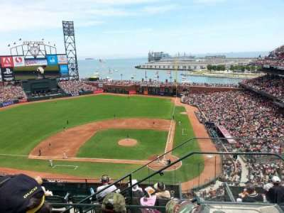 AT&T Park, section: 320, row: 3, seat: 1
