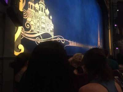 Broadhurst Theatre, section: OrchL, row: C, seat: 13