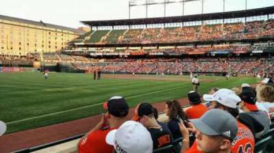 Oriole Park at Camden Yards, section: 66, row: 3, seat: 14