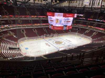 United Center, section: 321, row: 13, seat: 8
