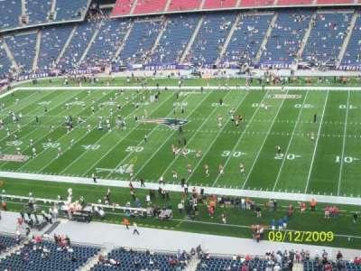 Gillette Stadium, section: 326, row: 2