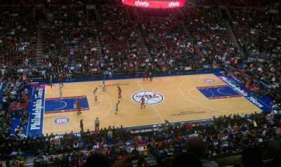 Wells Fargo Center section 224