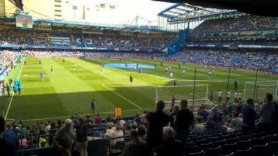 Stamford Bridge section Matthew Harding Lower block 15