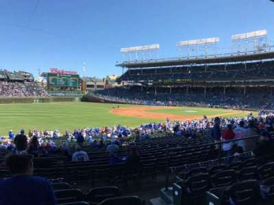 Wrigley Field, section: 205, row: 6, seat: 102
