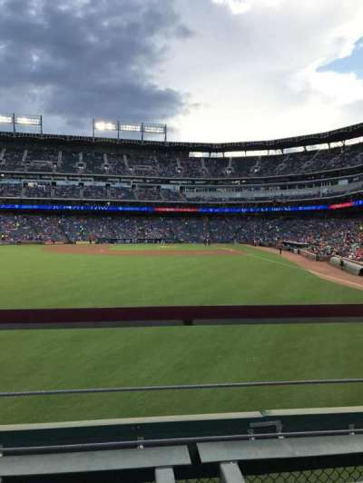 Globe Life Park in Arlington, section: 6, row: 1, seat: 13