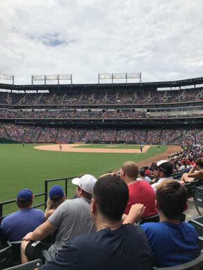 Globe Life Park in Arlington, section: 10, row: 17, seat: 6