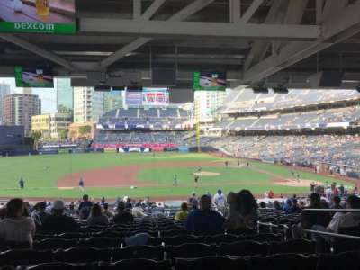 PETCO Park, section: 110, row: 42, seat: 4