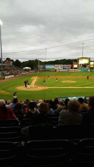 Bethpage Ballpark, section: 204, row: V, seat: 8