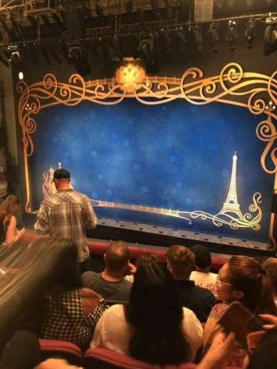 Broadhurst Theatre, section: Mezzo, row: E, seat: 6