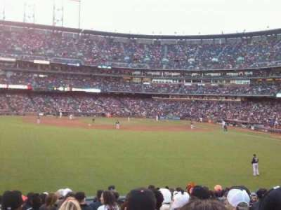 AT&T Park, section: 138, row: 17, seat: 22