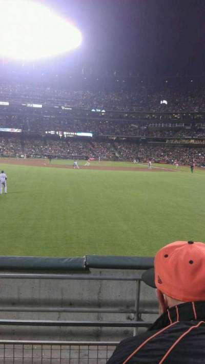 AT&T Park, section: 138, row: 3, seat: 5