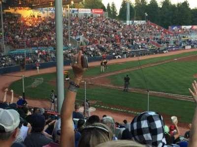 Nat Bailey Stadium, section: 1, row: 12, seat: 12