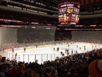 Wells Fargo Center section CB22