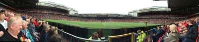Old Trafford, section: N1407, row: BB, seat: 55