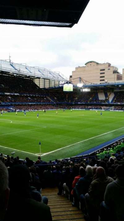 Stamford Bridge, section: Matthew Harding Lower, row: U, seat: 395