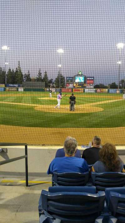 LoanMart Field, section: Superbox 1, row: F, seat: 12