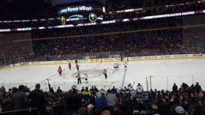 KeyBank Center, section: 105, row: 21, seat: 13