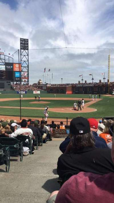 AT&T Park section FC117