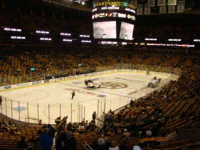 TD Garden, section: Loge 15, row: 27, seat: 32