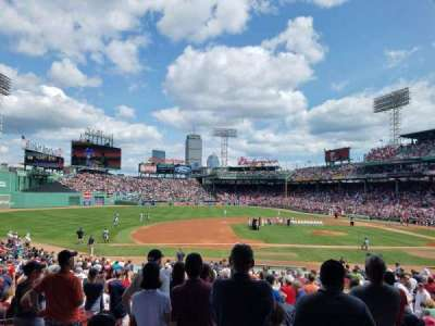 Fenway Park, section: Grandstand 26, row: 1, seat: 20