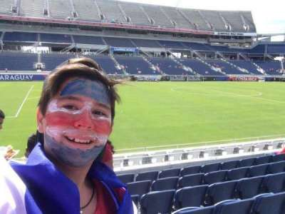 Camping World Stadium, section: 111, row: F, seat: 3