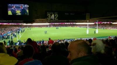 Principality Stadium section L1