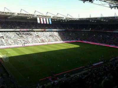 Borussia Park, section: 19A, row: 9, seat: 26