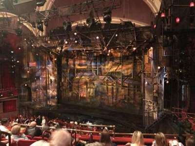 Broadway Theatre - 53rd Street, section: Front Mezz, row: F, seat: 7