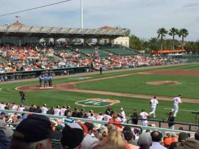 Ed Smith Stadium, section: 207, row: 9, seat: 10