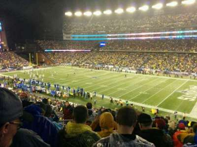 Gillette Stadium, section: 227, row: 13, seat: 18