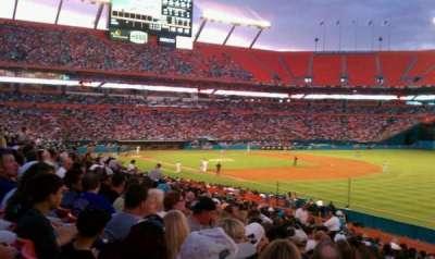 Hard Rock Stadium, section: 138, row: 21, seat: 2