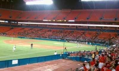 Hard Rock Stadium, section: 106, row: 11, seat: 14