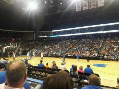 Jacksonville Veterans Memorial Arena, section: 102, row: C, seat: 11