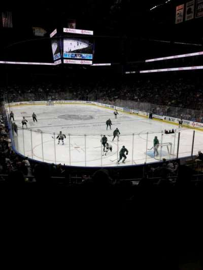 Jacksonville Veterans Memorial Arena, section: 121, row: S, seat: 6