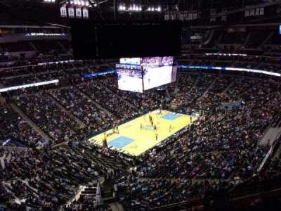 Pepsi Center, section: 314, row: 12, seat: 1