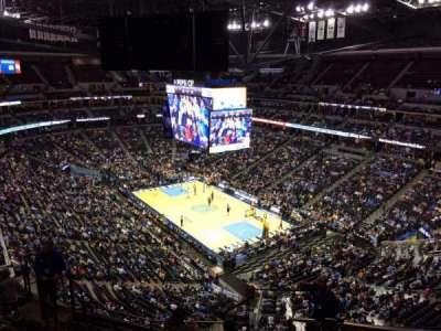 Pepsi Center, section: 330, row: 12, seat: 1