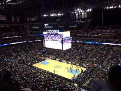 Pepsi Center, section: 334, row: 12, seat: 1