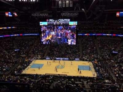 Pepsi Center, section: 340, row: 10, seat: 20