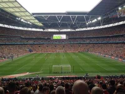 Wembley Stadium, section: 134, row: 43, seat: 1