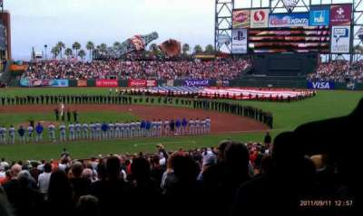 AT&T Park section 108