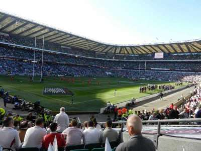 Twickenham Stadium, section: L31, row: 20, seat: 28