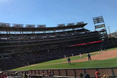 Nationals Park, section: 132, row: H, seat: 10