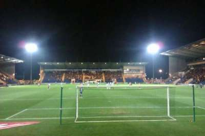 Colchester Community Stadium, section: N3, row: F, seat: 78